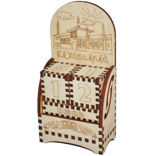 Деревянный календарь Бахчисарай