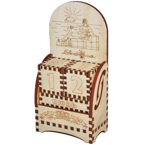 Деревянный календарь Евпатория