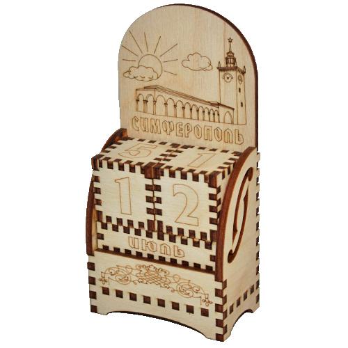 Деревянный календарь Симферополь