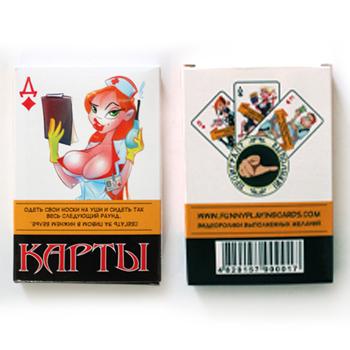 """Карты игральные """"Смешные Желания"""" (36 шт)"""