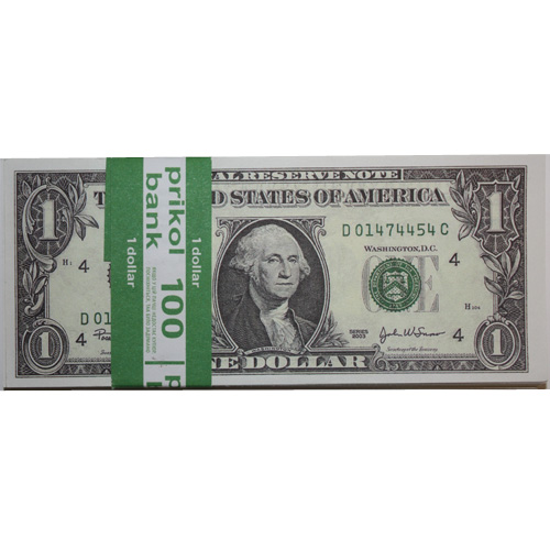 Сувенирные деньги 1 доллар