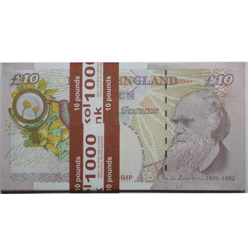 Сувенирные деньги 10 фунтов