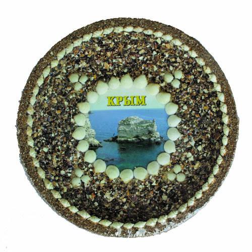 Тарелка песочная Крым