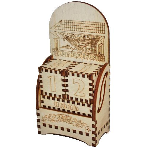 Деревянный календарь Феодосия