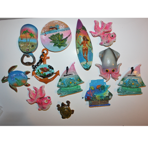 Набор керамических магнитов Морские (12 шт)