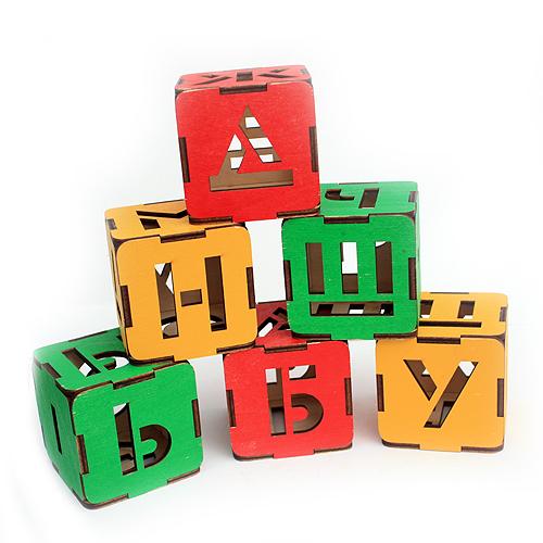 Кубики Светофор /большие/9шт.