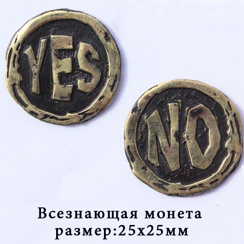 Бронза медальон Монета