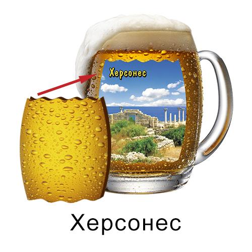 Деревянный магнит Бокал пиво Херсонес