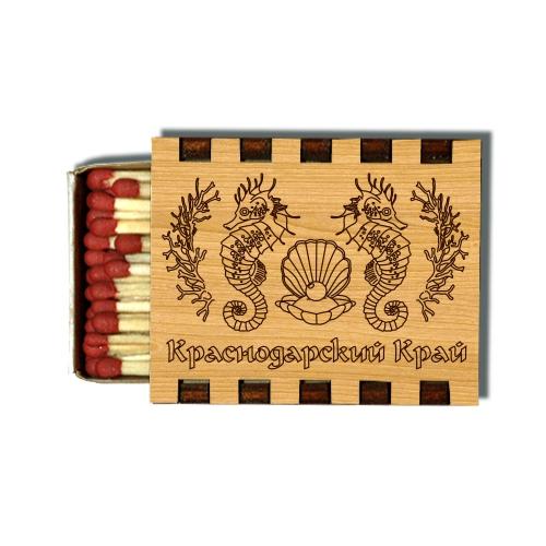 Деревянные Спички Сувенирные Краснодарский край