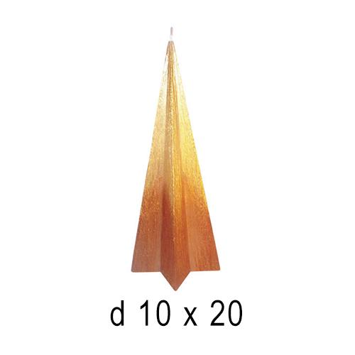 Свеча интерьерная Звездочка 10*20 см