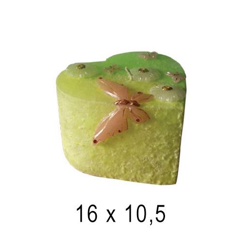 Свеча интерьерная Торт 16*10,5 см