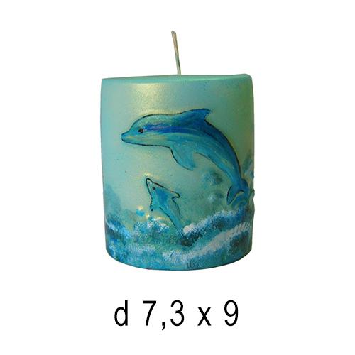 Морские свечи Аквариум 7,3*9 см