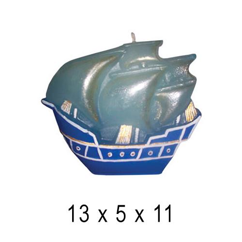 Морские свечи Кораблик 13*5*11 см
