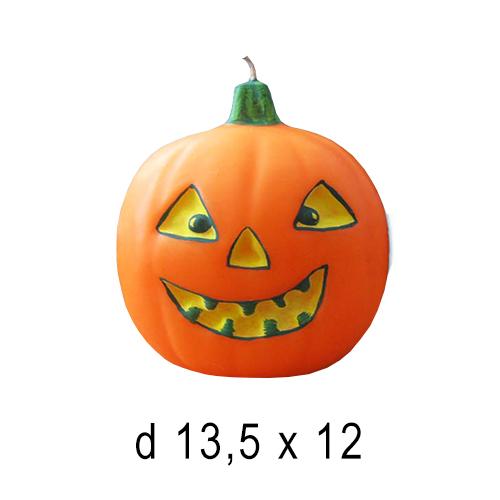 Хэллоуин  Свеча Тыква 13,5*12 см