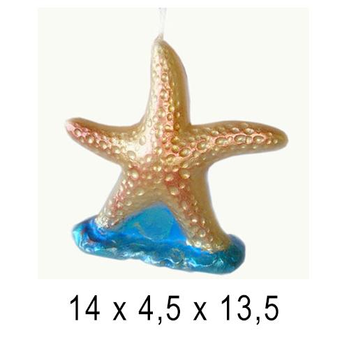 Морские свечи Морская звезда 14*4,5*13,5 см