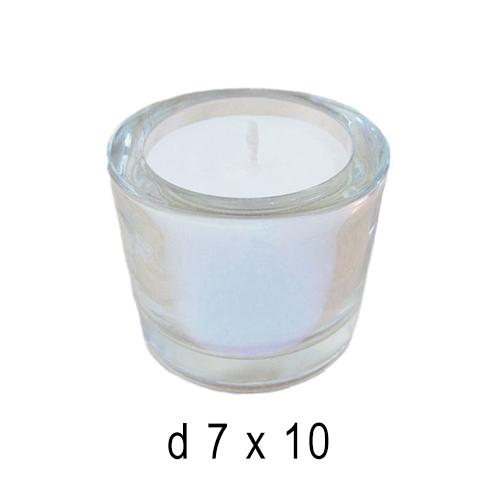 В стекле свечи  Свеча в стакане 7*10 см