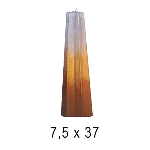 Эксклюзивные свечи Факел 7,5*37 см
