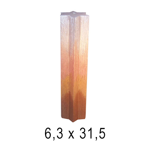 Эксклюзивные свечи Звезда Давида 6,3*31,5 см