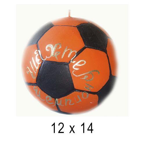 С логотипом свечи Мячик 12*14 см