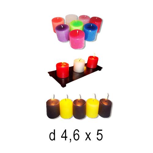 Бытовые и ресторанные свечи  Свеча чайная большая  4,6*5 см