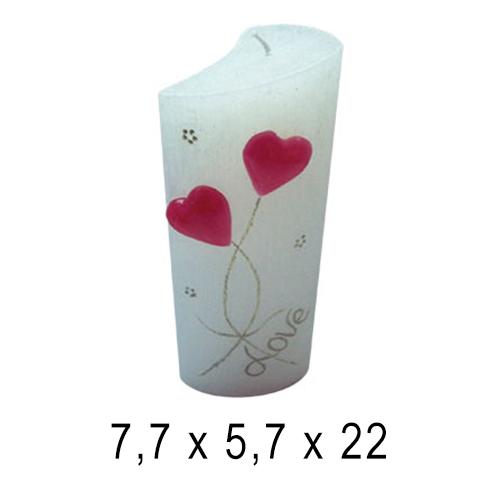 День Валентина и 8 марта  Лист 7,7*5,7*22 см