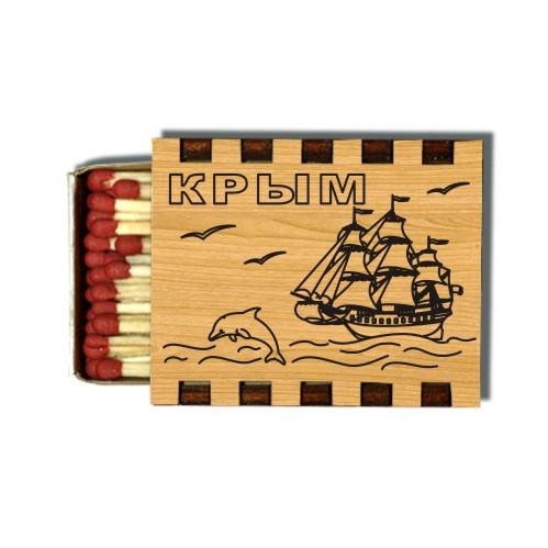 Деревянные Спички Сувенирные Крым
