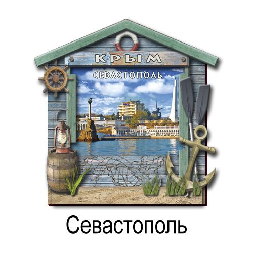 Деревянный 3Д Бунгало Севастополь