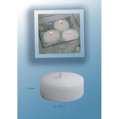 Плавающие цветы и свечи Цилиндр-10х4-500x500