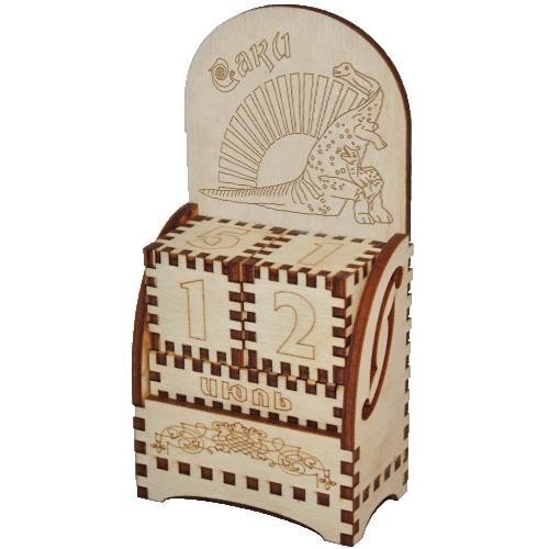 Деревянный календарь Саки