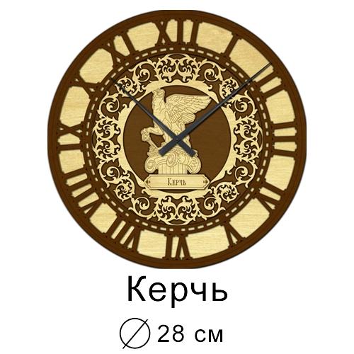 Часы настенные Деревянные Резные 28 см Керчь