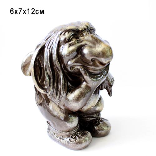 Статуэтка керамическая Гоблин Серый 6*7*12 см