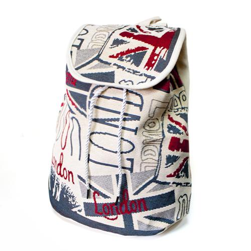 Рюкзак Холщовый Лондон
