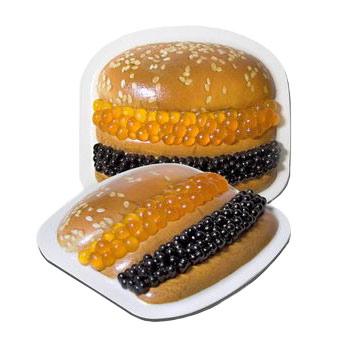 Гамбургер икра